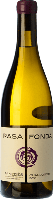11,95 € Free Shipping | White wine Can Vich Fermentat en Bóta Crianza D.O. Penedès Catalonia Spain Chardonnay Bottle 75 cl