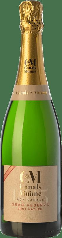 16,95 € Free Shipping | White sparkling Canals & Munné ADN Brut Nature Gran Reserva D.O. Cava Catalonia Spain Macabeo, Chardonnay, Parellada Bottle 75 cl
