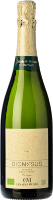 12,95 € Free Shipping | White sparkling Canals & Munné Dionysus Eco Brut Nature Reserva D.O. Cava Catalonia Spain Macabeo, Xarel·lo, Chardonnay Bottle 75 cl | Thousands of wine lovers trust us to get the best price guarantee, free shipping always and hassle-free shopping and returns.