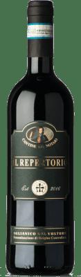 19,95 € Free Shipping | Red wine Cantine del Notaio Il Repertorio D.O.C. Aglianico del Vulture Basilicata Italy Aglianico Bottle 75 cl
