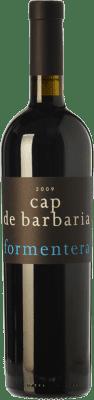 39,95 € Free Shipping | Red wine Cap de Barbaria Crianza I.G.P. Vi de la Terra de Formentera Balearic Islands Spain Merlot, Cabernet Sauvignon, Monastrell, Fogoneu Bottle 75 cl