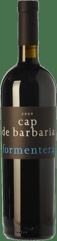 88,95 € Free Shipping | Red wine Cap de Barbaria Crianza 2008 I.G.P. Vi de la Terra de Formentera Balearic Islands Spain Merlot, Cabernet Sauvignon, Monastrell, Fogoneu Magnum Bottle 1,5 L