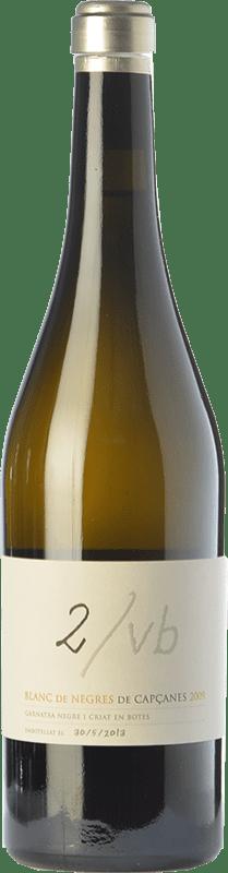 41,95 € Envío gratis | Vino blanco Capçanes Blanc de Negres 2/VB Crianza D.O. Montsant Cataluña España Garnacha Botella 75 cl