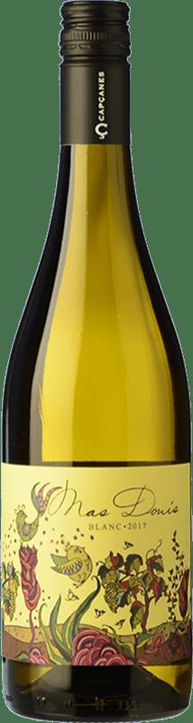 6,95 € Envío gratis | Vino blanco Capçanes Mas Donís Blanc D.O. Montsant Cataluña España Garnacha Blanca, Macabeo Botella 75 cl