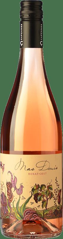 6,95 € Free Shipping | Rosé wine Capçanes Mas Donís Rosat D.O. Montsant Catalonia Spain Merlot, Syrah, Grenache Bottle 75 cl