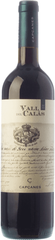 15,95 € Free Shipping | Red wine Capçanes Vall del Calàs Crianza D.O. Montsant Catalonia Spain Tempranillo, Merlot, Grenache, Carignan Bottle 75 cl