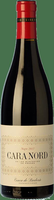 11,95 € Free Shipping | Red wine Cara Nord Negre Joven D.O. Conca de Barberà Catalonia Spain Syrah, Grenache, Garrut Bottle 75 cl