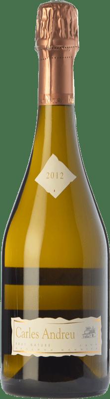 18,95 € Envío gratis | Espumoso blanco Carles Andreu Barrica Brut Nature Reserva D.O. Cava Cataluña España Macabeo, Chardonnay, Parellada Botella 75 cl