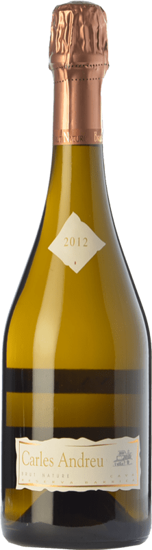 18,95 € Free Shipping | White sparkling Carles Andreu Barrica Brut Nature Reserva D.O. Cava Catalonia Spain Macabeo, Chardonnay, Parellada Bottle 75 cl