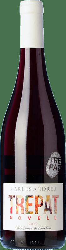 7,95 € Free Shipping | Red wine Carles Andreu Novell Joven D.O. Conca de Barberà Catalonia Spain Trepat Bottle 75 cl