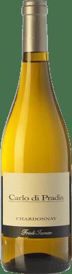 13,95 € Free Shipping | White wine Carlo di Pradis D.O.C. Friuli Isonzo Friuli-Venezia Giulia Italy Chardonnay Bottle 75 cl