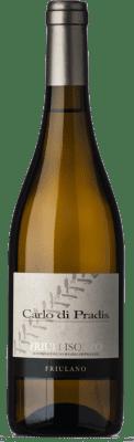 15,95 € Free Shipping | White wine Carlo di Pradis D.O.C. Friuli Isonzo Friuli-Venezia Giulia Italy Friulano Bottle 75 cl