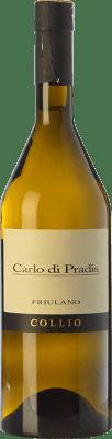 19,95 € Free Shipping | White wine Carlo di Pradis D.O.C. Collio Goriziano-Collio Friuli-Venezia Giulia Italy Friulano Bottle 75 cl