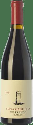 68,95 € Kostenloser Versand | Rotwein Casa Castillo Pie Franco Crianza D.O. Jumilla Kastilien-La Mancha Spanien Monastrell Flasche 75 cl