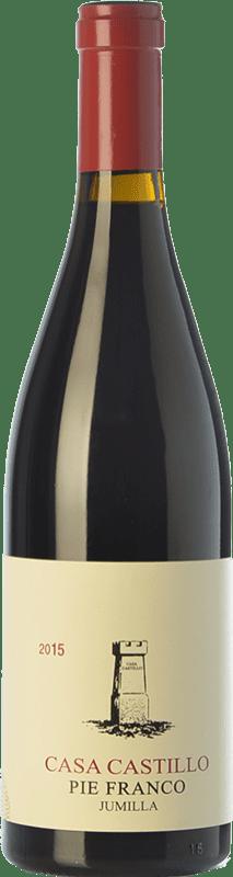 68,95 € Free Shipping | Red wine Casa Castillo Pie Franco Crianza D.O. Jumilla Castilla la Mancha Spain Monastrell Bottle 75 cl