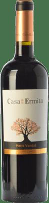 22,95 € Free Shipping | Red wine Casa de la Ermita Crianza D.O. Jumilla Castilla la Mancha Spain Petit Verdot Bottle 75 cl