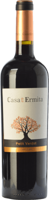 19,95 € Envío gratis | Vino tinto Casa de la Ermita Crianza D.O. Jumilla Castilla la Mancha España Petit Verdot Botella 75 cl