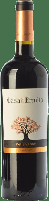 19,95 € Free Shipping | Red wine Casa de la Ermita Crianza D.O. Jumilla Castilla la Mancha Spain Petit Verdot Bottle 75 cl