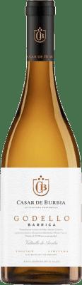 11,95 € Envio grátis | Vinho branco Casar de Burbia Fermentado en Barrica Crianza D.O. Bierzo Castela e Leão Espanha Godello Garrafa 75 cl