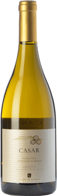 19,95 € Spedizione Gratuita | Vino bianco Casar de Burbia Fermentado en Barrica Crianza D.O. Bierzo Castilla y León Spagna Godello Bottiglia 75 cl
