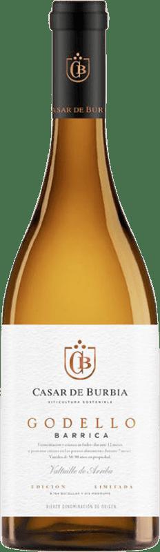 19,95 € Envoi gratuit | Vin blanc Casar de Burbia Fermentado en Barrica Crianza D.O. Bierzo Castille et Leon Espagne Godello Bouteille 75 cl