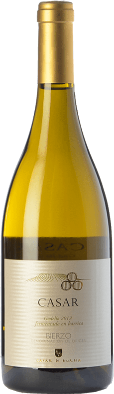 11,95 € Free Shipping | White wine Casar de Burbia Fermentado en Barrica Crianza D.O. Bierzo Castilla y León Spain Godello Bottle 75 cl