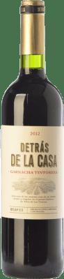 16,95 € Envoi gratuit | Vin rouge Castaño Detrás de la Casa Crianza D.O. Yecla Région de Murcie Espagne Grenache Tintorera Bouteille 75 cl