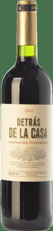 16,95 € Free Shipping | Red wine Castaño Detrás de la Casa Crianza D.O. Yecla Region of Murcia Spain Grenache Tintorera Bottle 75 cl