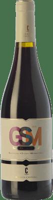 5,95 € Envío gratis | Vino tinto Castaño GSM Joven D.O. Yecla Región de Murcia España Syrah, Monastrell, Garnacha Tintorera Botella 75 cl