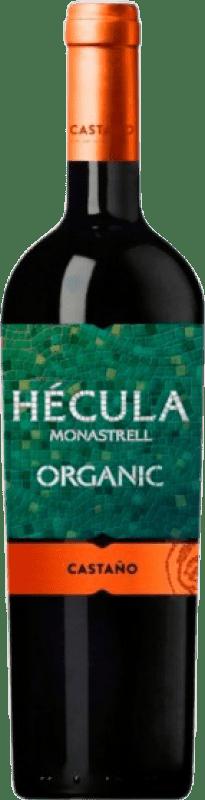 6,95 € Envío gratis | Vino tinto Castaño Hécula Joven D.O. Yecla Región de Murcia España Monastrell Botella 75 cl