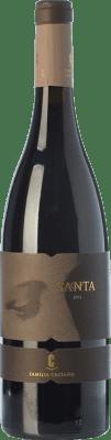 19,95 € Envoi gratuit | Vin rouge Castaño Santa Crianza D.O. Yecla Région de Murcie Espagne Monastrell, Grenache Tintorera Bouteille 75 cl