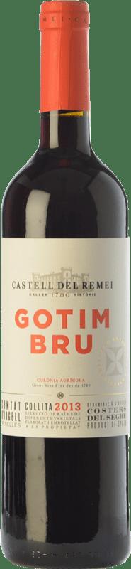 22,95 € Envoi gratuit | Vin rouge Castell del Remei Gotim Bru Joven D.O. Costers del Segre Catalogne Espagne Tempranillo, Merlot, Syrah, Grenache, Cabernet Sauvignon Bouteille Magnum 1,5 L
