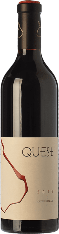 37,95 € Envoi gratuit   Vin rouge Castell d'Encús Quest Joven D.O. Costers del Segre Catalogne Espagne Merlot, Cabernet Sauvignon, Cabernet Franc, Petit Verdot Bouteille 75 cl