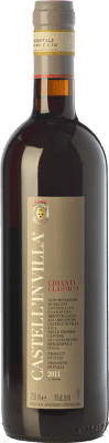 31,95 € Free Shipping | Red wine Castell'in Villa D.O.C.G. Chianti Classico Tuscany Italy Sangiovese Bottle 75 cl