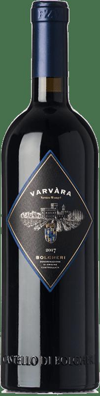 27,95 € Free Shipping | Red wine Castello di Bolgheri Varvàra D.O.C. Bolgheri Tuscany Italy Merlot, Syrah, Cabernet Sauvignon, Petit Verdot Bottle 75 cl
