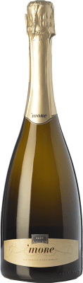 33,95 € Free Shipping | White sparkling Castello di Cigognola More D.O.C.G. Oltrepò Pavese Metodo Classico Lombardia Italy Pinot Black Bottle 75 cl