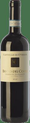 9,95 € Free Shipping   Red wine Castello di Uviglie Bricco del Conte D.O.C. Barbera del Monferrato Piemonte Italy Barbera Bottle 75 cl