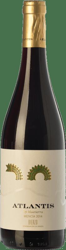 5,95 € Free Shipping | Red wine Castillo de Maetierra Atlantis Joven D.O. Bierzo Castilla y León Spain Mencía Bottle 75 cl