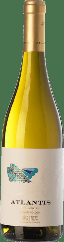 9,95 € Free Shipping | White wine Castillo de Maetierra Atlantis D.O. Rías Baixas Galicia Spain Albariño Bottle 75 cl