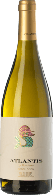 13,95 € Free Shipping | White wine Castillo de Maetierra Atlantis D.O. Valdeorras Galicia Spain Godello Bottle 75 cl