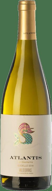 11,95 € Envío gratis   Vino blanco Castillo de Maetierra Atlantis D.O. Valdeorras Galicia España Godello Botella 75 cl