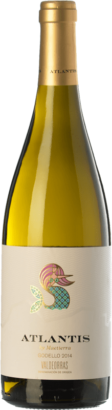 9,95 € Free Shipping | White wine Castillo de Maetierra Atlantis D.O. Valdeorras Galicia Spain Godello Bottle 75 cl