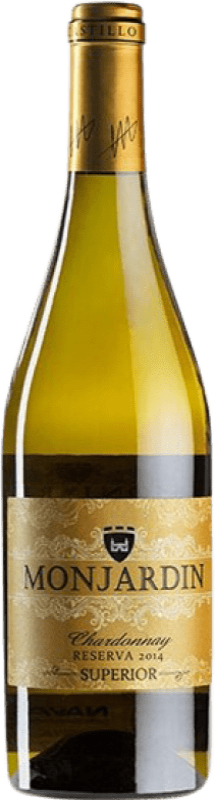 15,95 € Free Shipping | White wine Castillo de Monjardín Reserva D.O. Navarra Navarre Spain Chardonnay Bottle 75 cl