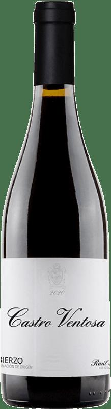 8,95 € Free Shipping | Red wine Castro Ventosa El Castro de Valtuille Joven D.O. Bierzo Castilla y León Spain Mencía Bottle 75 cl
