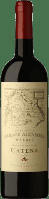 15,95 € Kostenloser Versand | Rotwein Catena Zapata Paraje Reserva I.G. Altamira Altamira Argentinien Malbec Flasche 75 cl