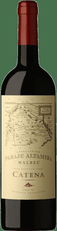 15,95 € Envío gratis | Vino tinto Catena Zapata Paraje Reserva I.G. Altamira Altamira Argentina Malbec Botella 75 cl