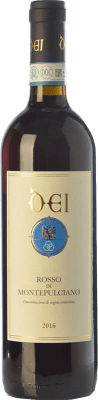 13,95 € Free Shipping | Red wine Caterina Dei D.O.C. Rosso di Montepulciano Tuscany Italy Sangiovese Bottle 75 cl