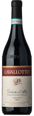 Red wine Cavallotto Vigna Scot D.O.C.G. Dolcetto d'Alba Piemonte Italy Dolcetto Bottle 75 cl