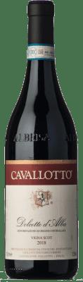 15,95 € Kostenloser Versand | Rotwein Cavallotto Vigna Scot D.O.C.G. Dolcetto d'Alba Piemont Italien Dolcetto Flasche 75 cl