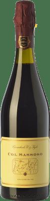 13,95 € Free Shipping | Red wine Cavicchioli Col Sassoso D.O.C. Lambrusco Grasparossa di Castelvetro Emilia-Romagna Italy Lambrusco Grasparossa Bottle 75 cl